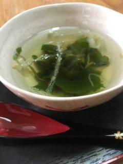 海藻トロッとスープお膳